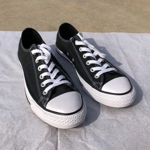 Black Converse Chuck Taylor All Star Low Top Shoes